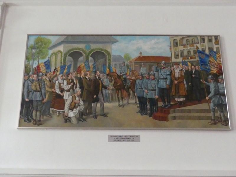 Regele Ferdinand in Oradea