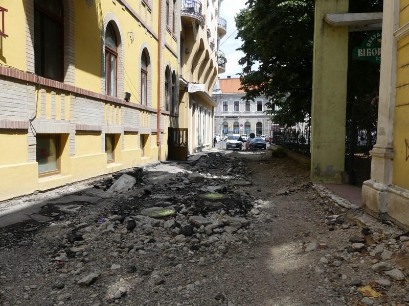 Viitoare strada pietonala Oradea