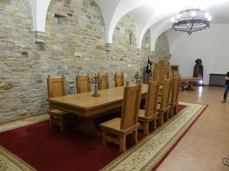 Cetatea Fagarasului interior
