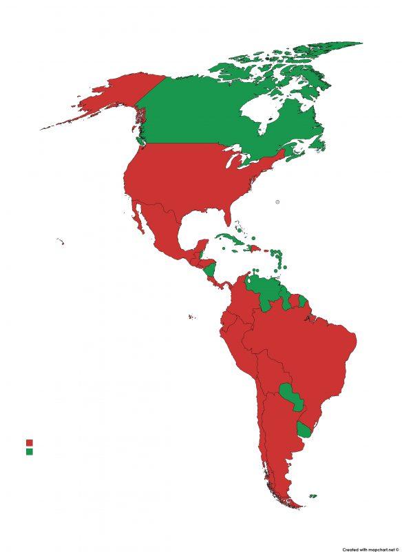 Lista verde America
