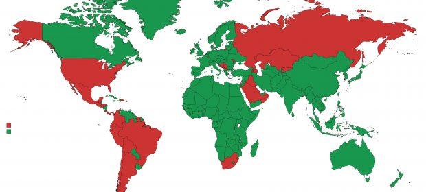 Lista verde Lumea