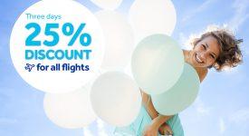 Promotie Blue Air