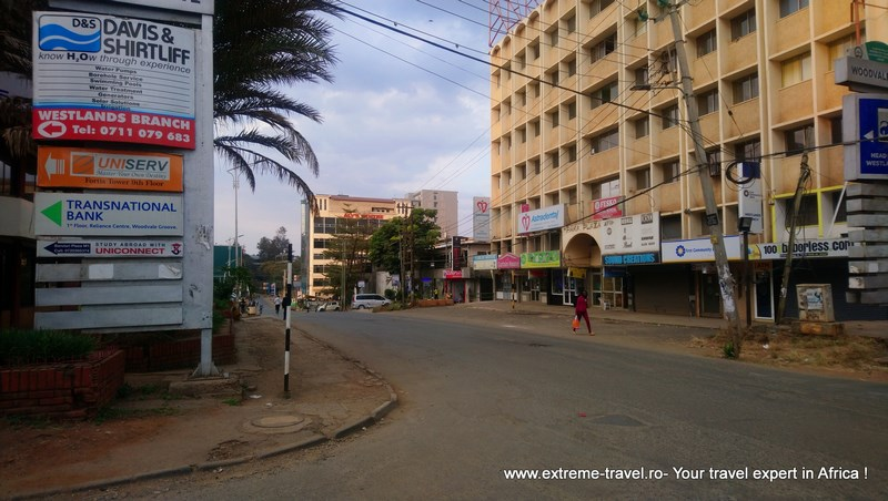 Nairobi pustiu