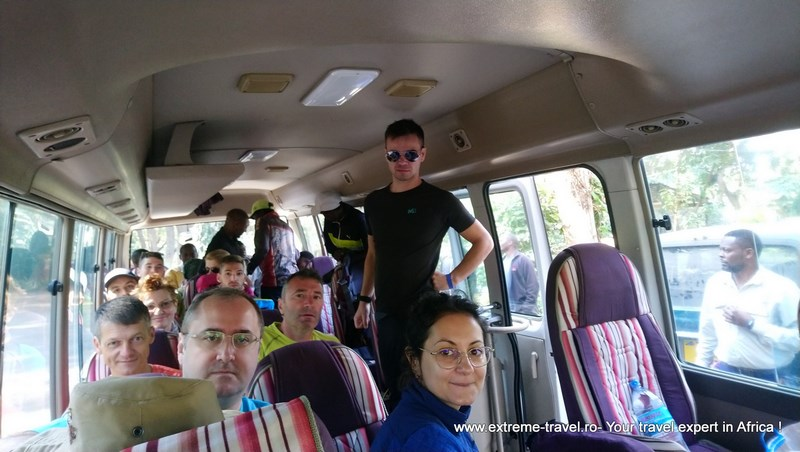 Microbuz Nairobi Arusha