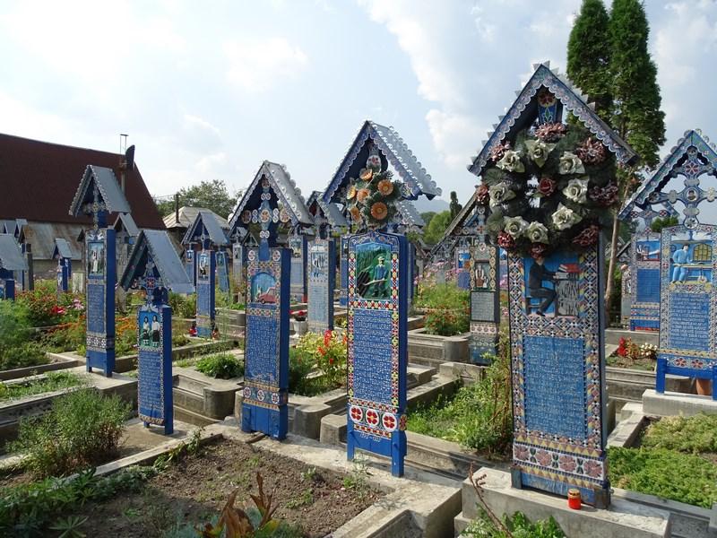 Maramures Sapanta Cimitirul Vesel