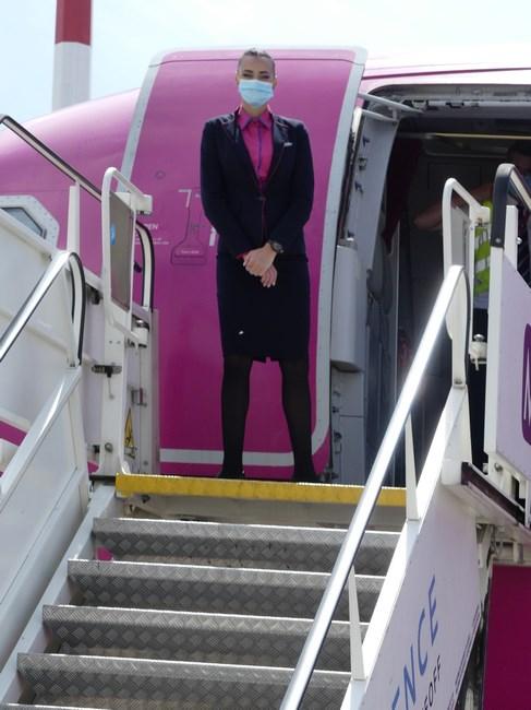Stewardeza Wizz Air