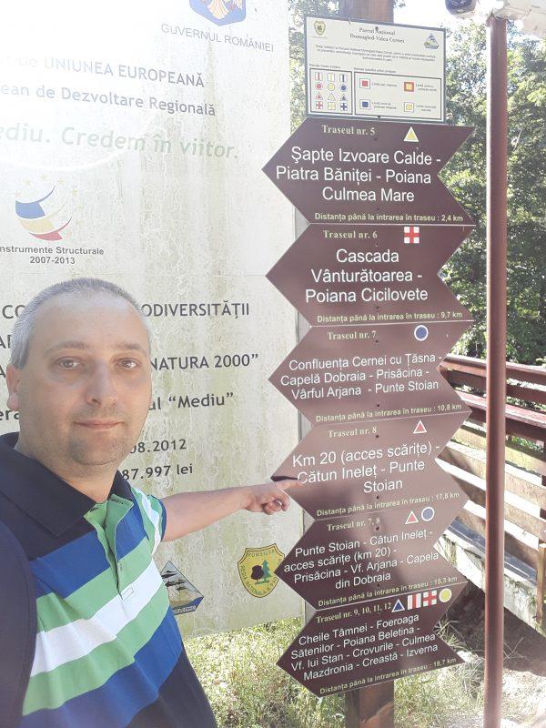 Info parcul Domogled Valea Cernei