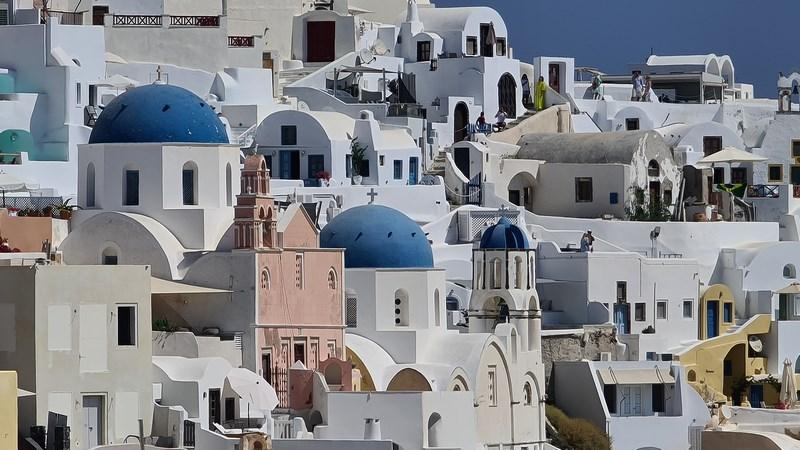 Biserici Oia Santorini
