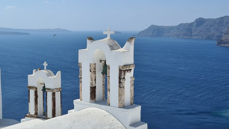 Clopotnite Santorini