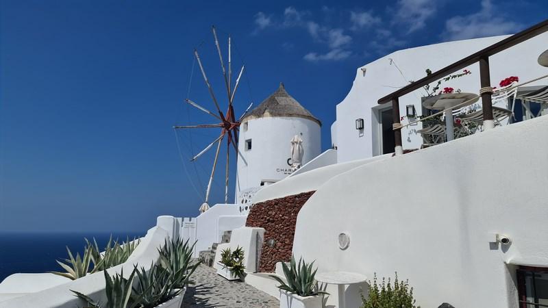 Moara de vant Oia Santorini