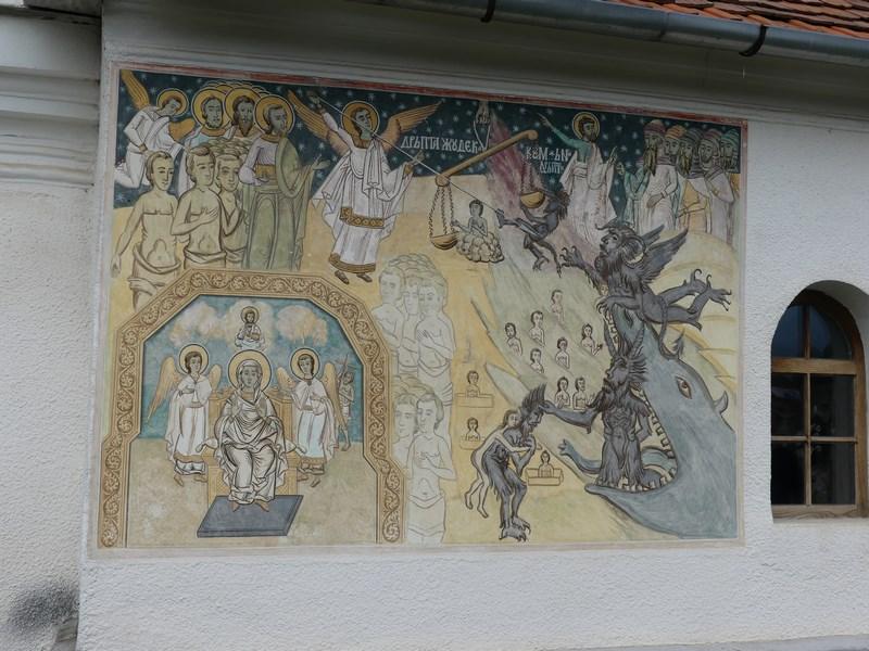 Pictura biserica Cartisoara
