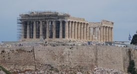 Panorama Parthenon Atena