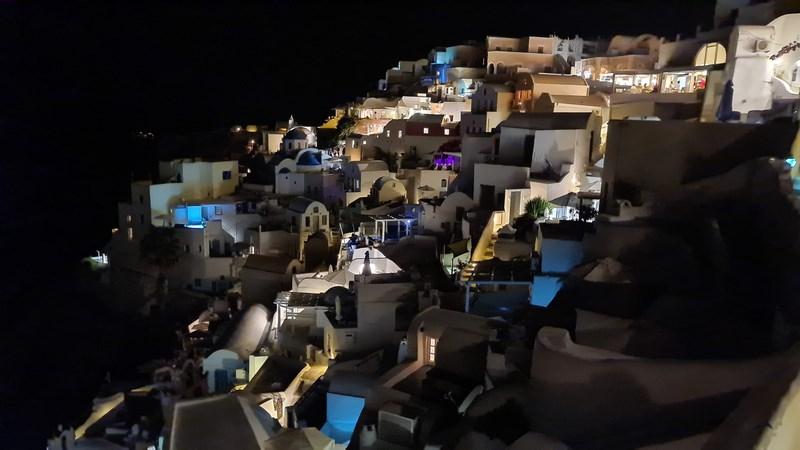 Santorini noaptea