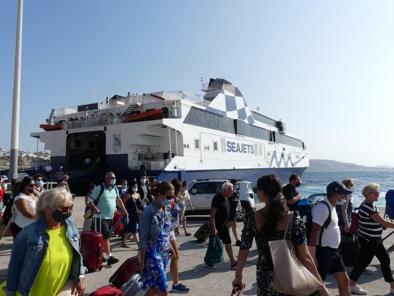 Ferry Paros Mykonos
