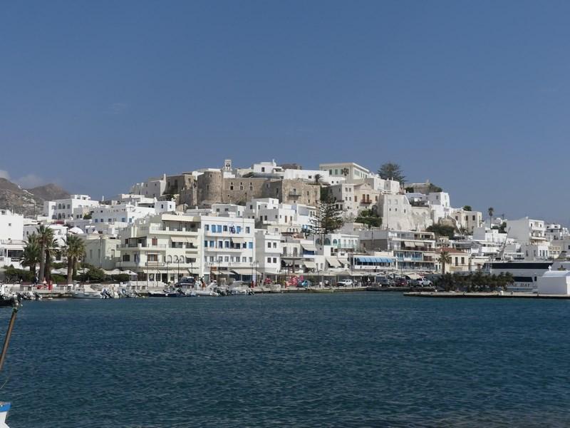 Sosire in Naxos