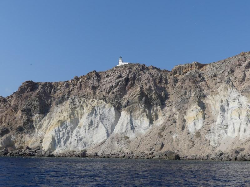 Farul din Santorini