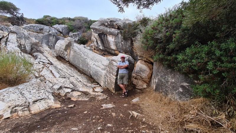 Kouros Apollonas Naxos