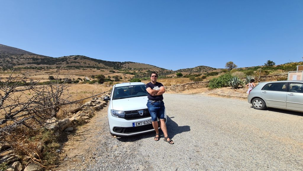 Rent a car Naxos