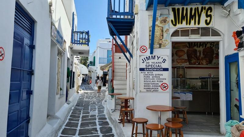 Fast food Mykonos