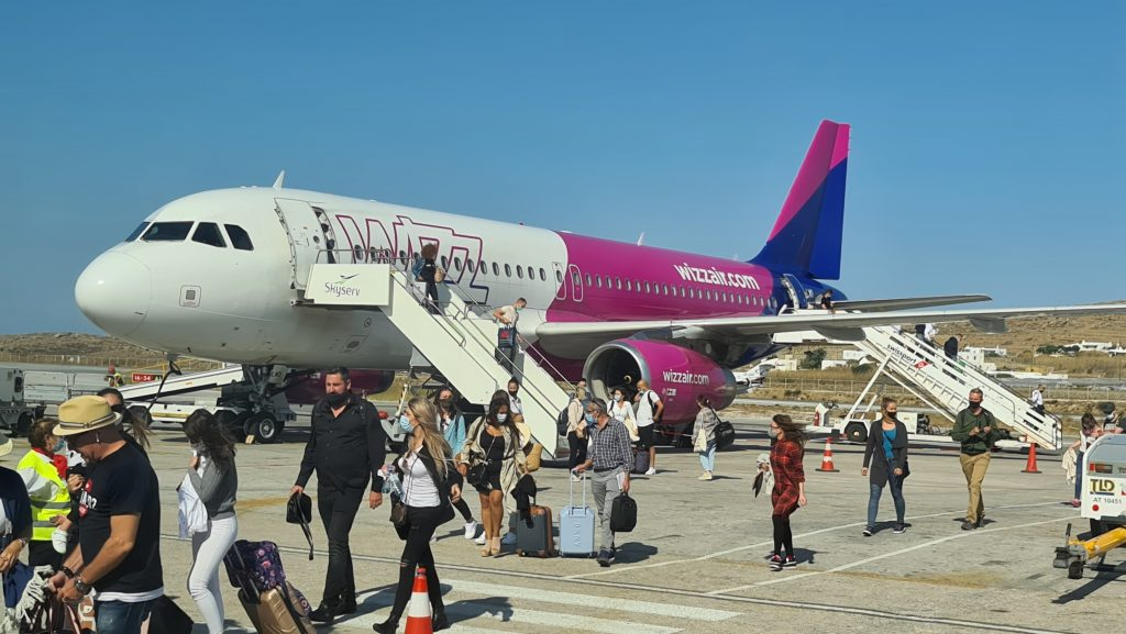 Wizz Air Mykonos