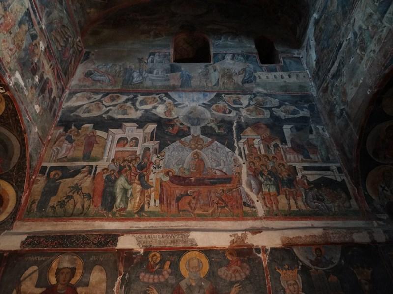 Picturi biserica domneasca Curtea de Arges