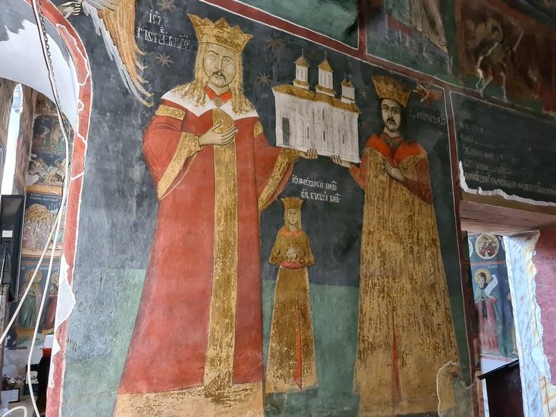Ctitori manastirea Snagov