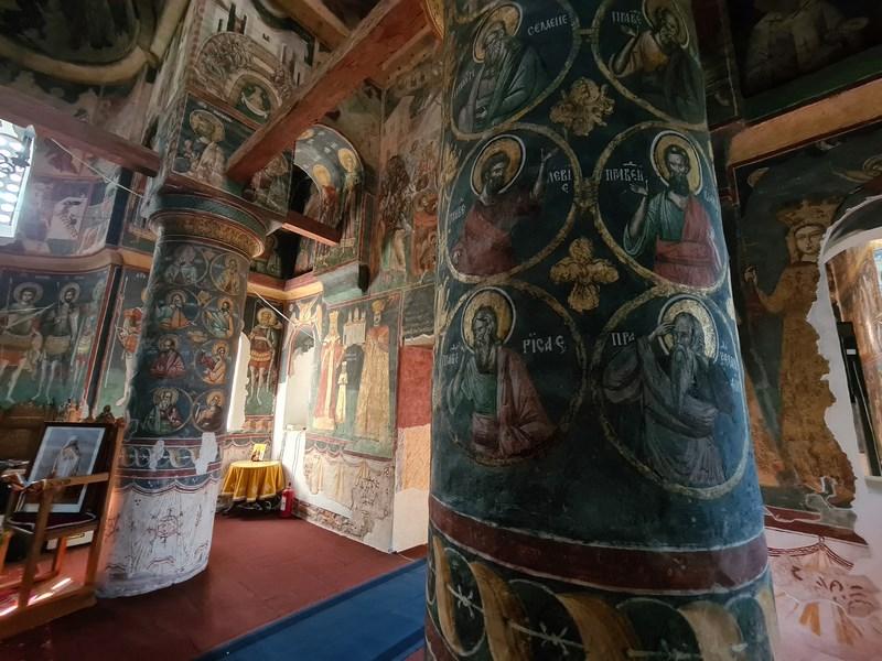 Interior Manastirea Snagov
