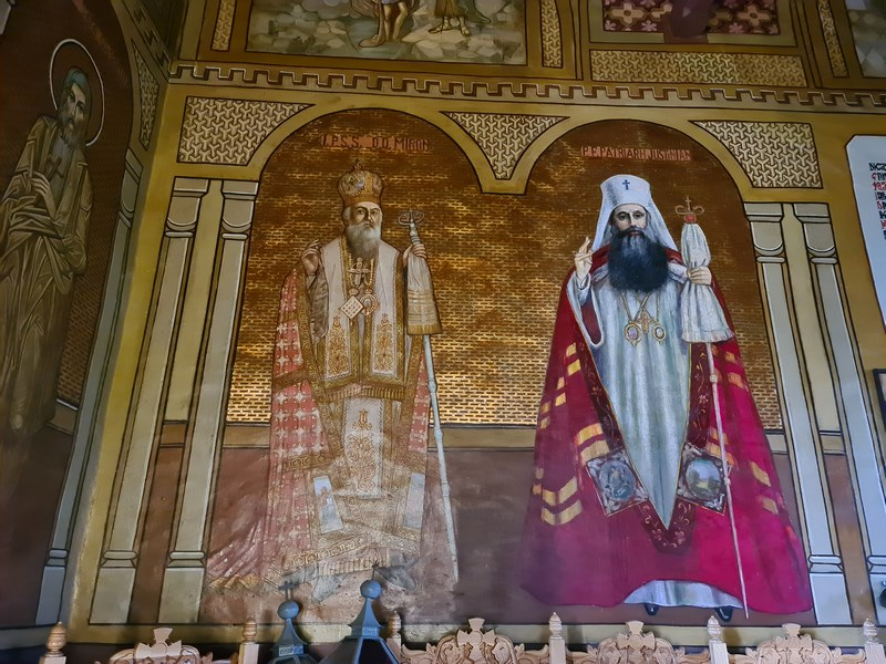 Miron Cristea si Justinian Marina