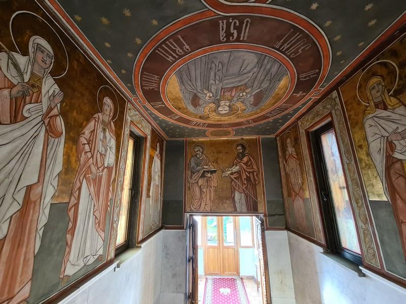 Fresce Manastirea Pissiota