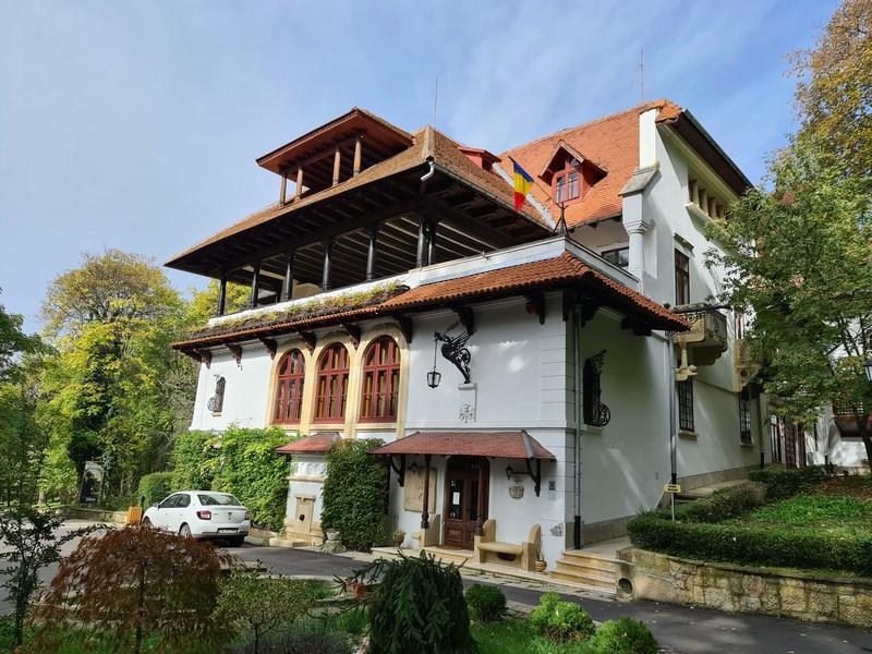 Vila Florica Stefanesti familia Bratianu
