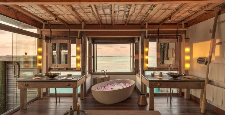 Gili Lankanfushi baie