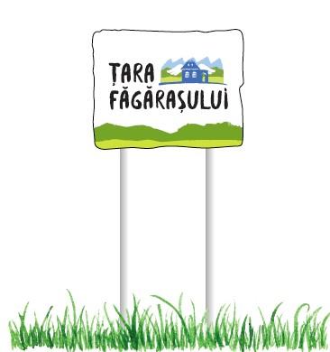 Sign post Tara Fagarasului