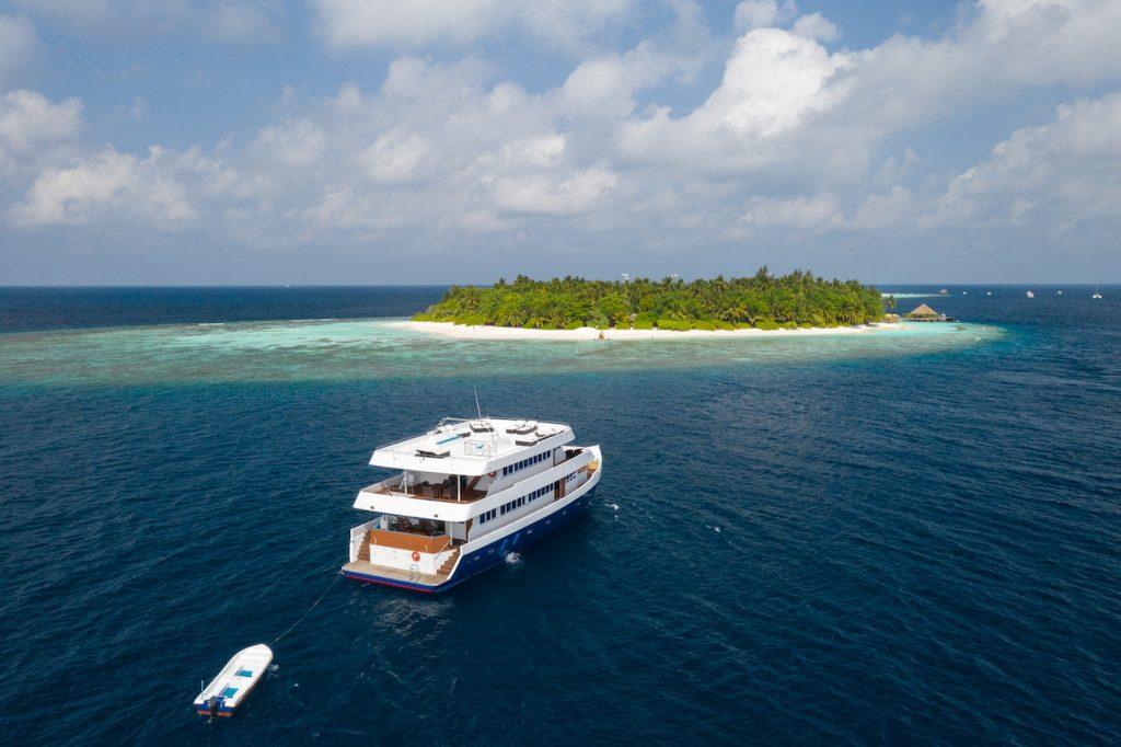 Vas croaziera Maldive