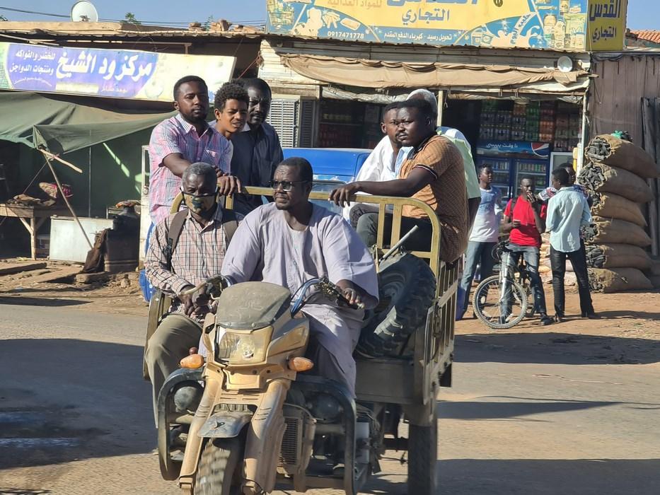 Motocicleta Sudan