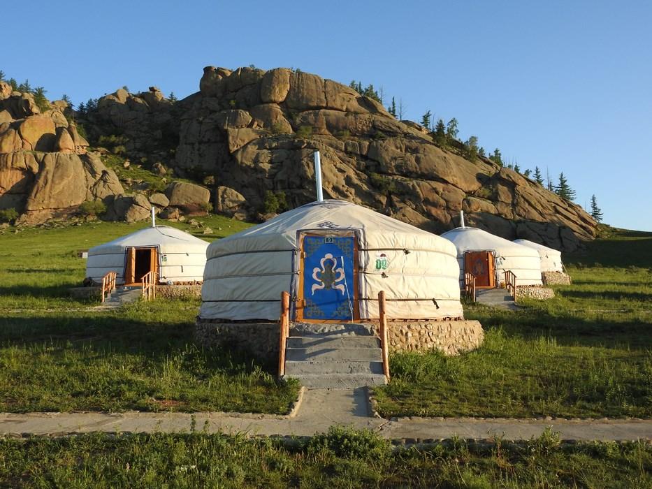 Iurte in Mongolia