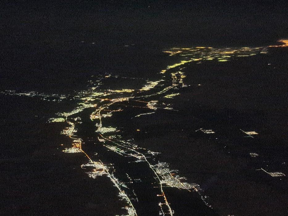 Nilul noaptea