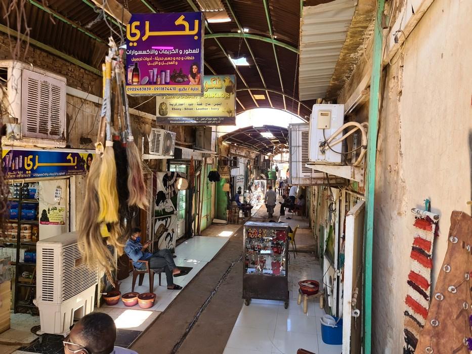Piata Suveniruri Omdurman