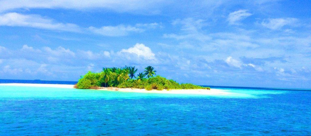 . Sand bank Maldive