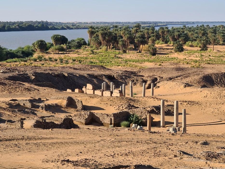 Panorama Old Dongola