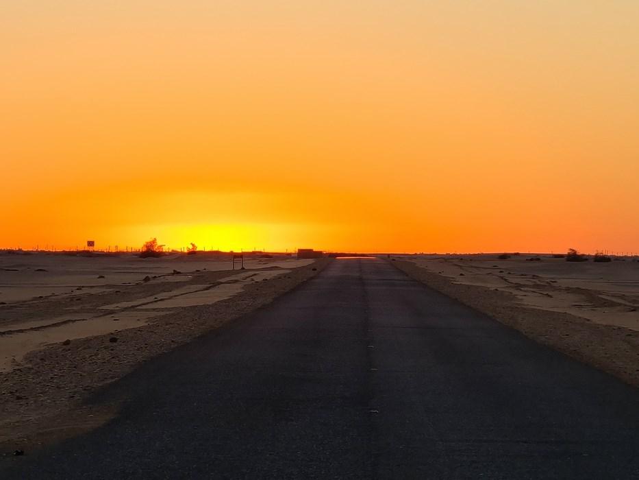 Apus de soare Sudan