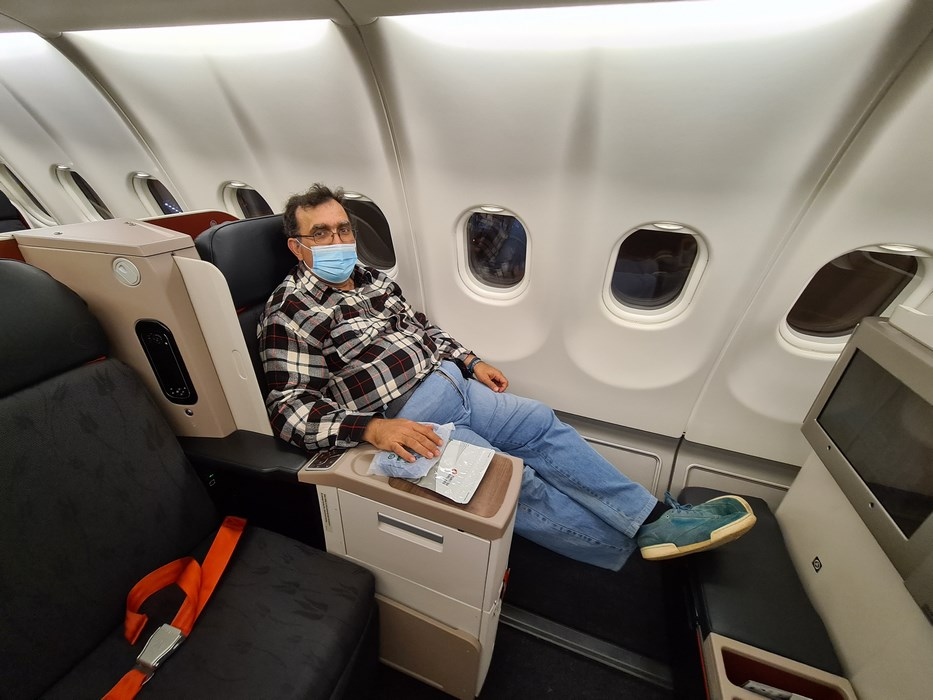 Business class Turkish Airlines A