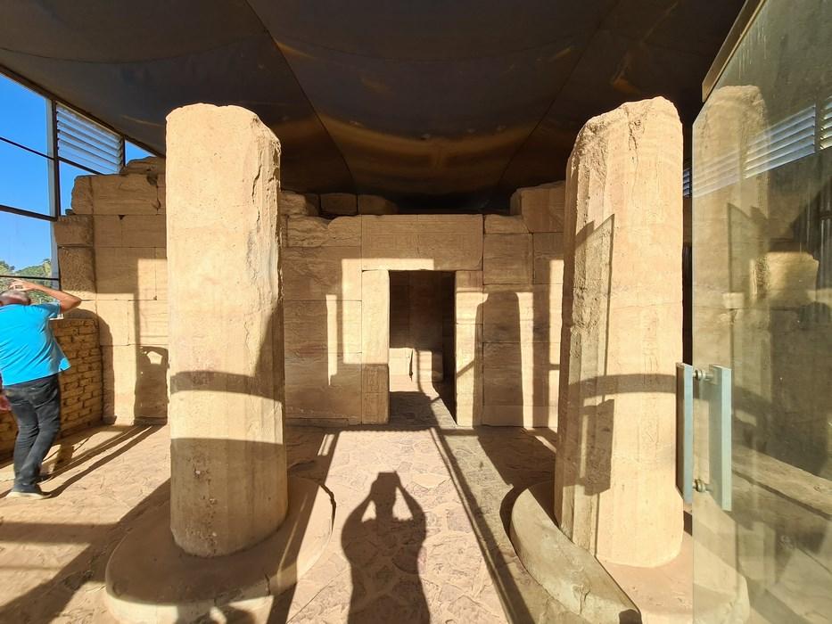 Templu egiptean in Sudan