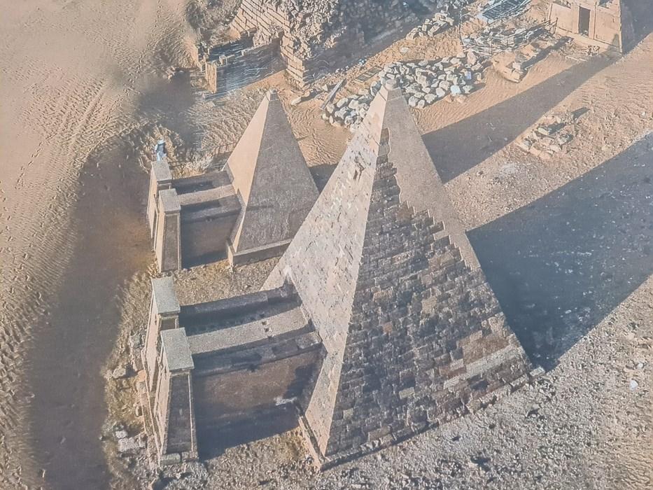 Reconstructie piramide Meroe
