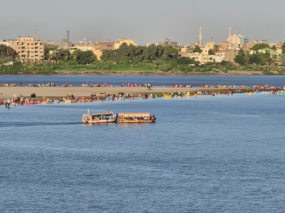Nil in Khartoum