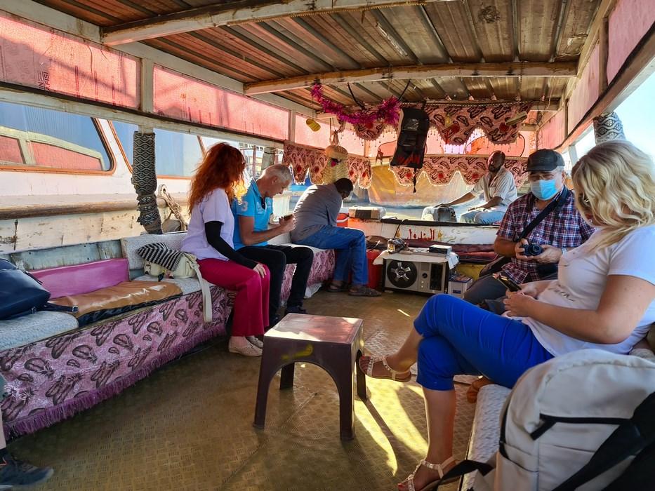 Barca pe Nil
