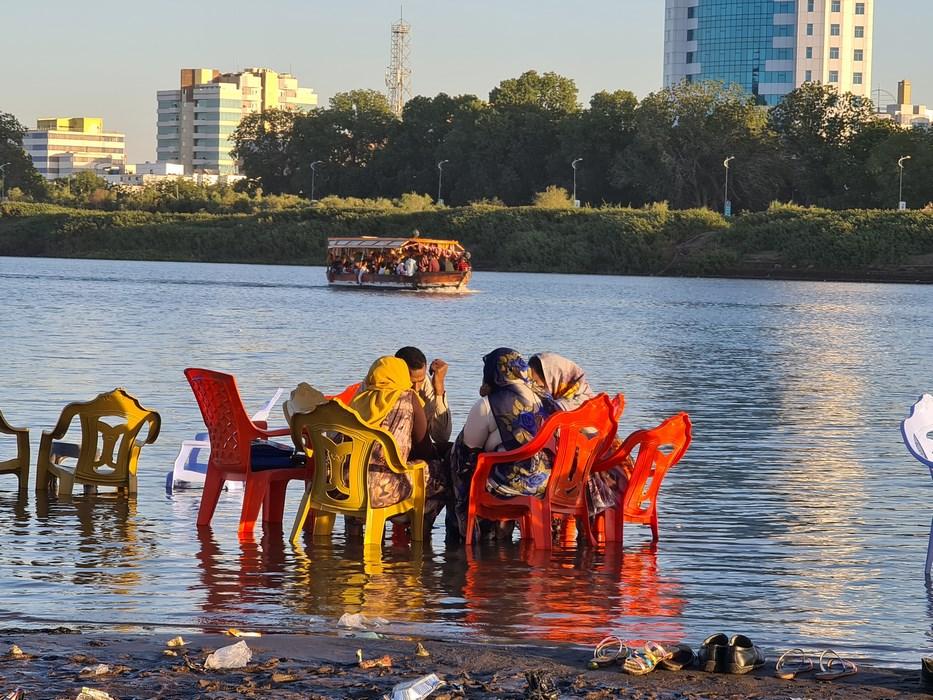 Khartoum beach