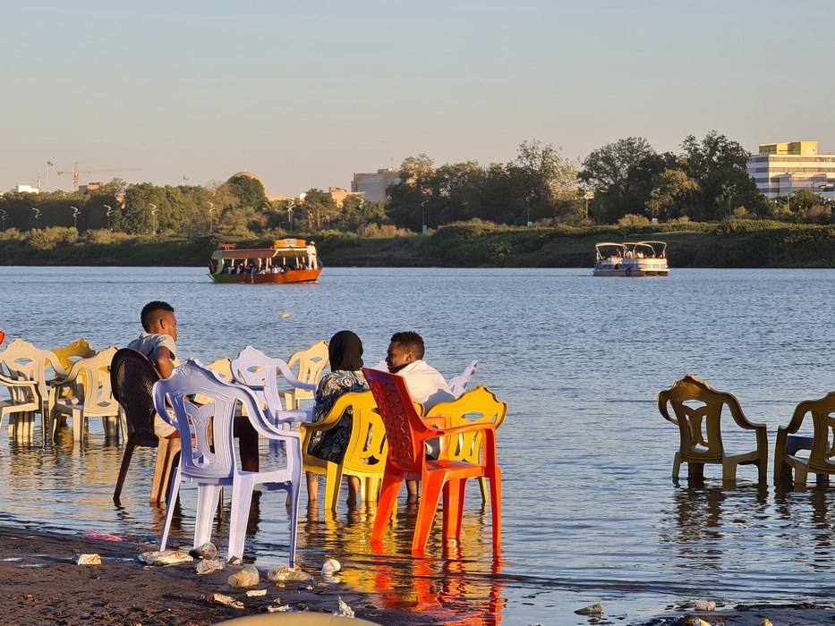 Khartoum Sudan beach