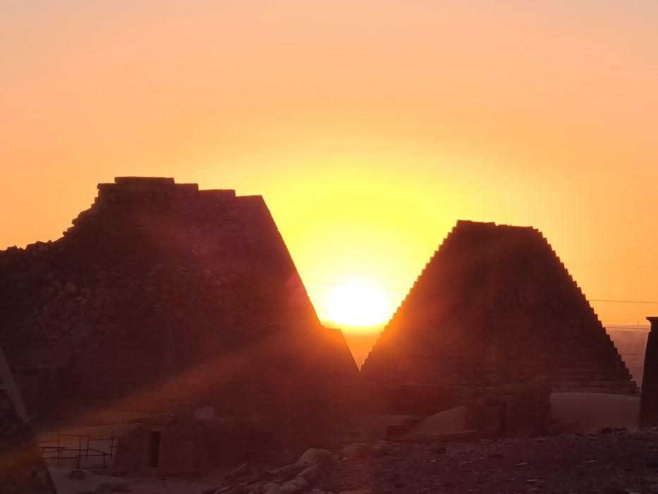 Meroe sunset