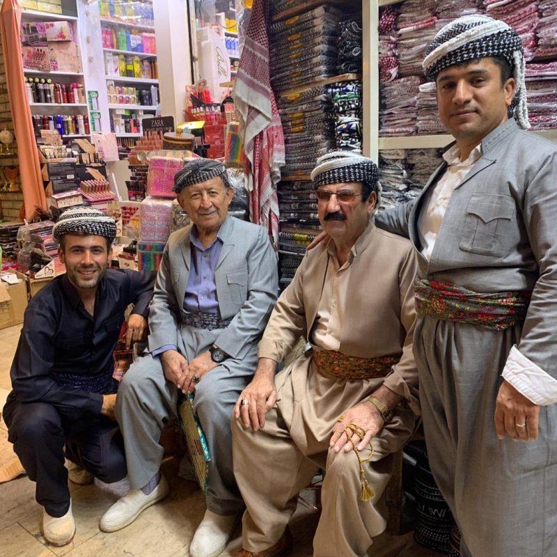Kurdistan costume kurde