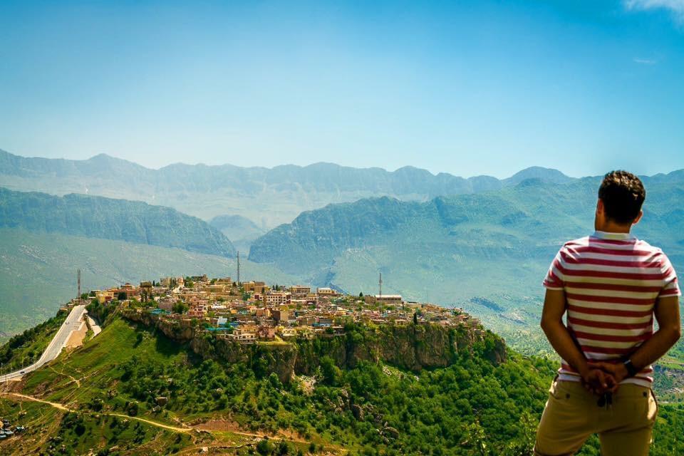 Kurdistan City in the Sky